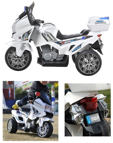 us highway patrol polizei motorrad elektro kindermotorrad. Black Bedroom Furniture Sets. Home Design Ideas