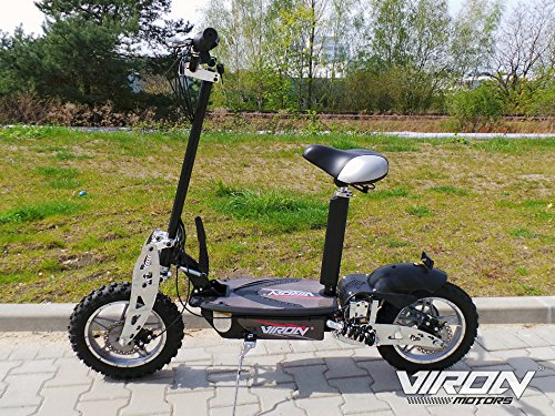 e scooter roller viron v 7 1000 watt 36v elektroroller. Black Bedroom Furniture Sets. Home Design Ideas